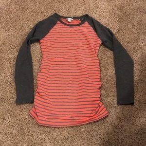 Liz Lange sweatshirt maternity top